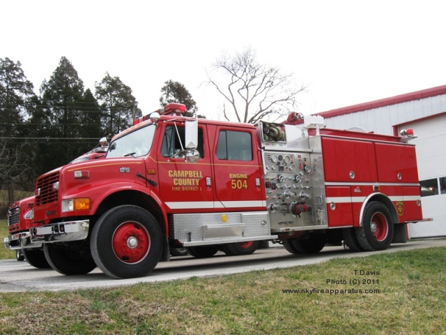 500 Gallon Water Tank >> Northern Kentucky Fire Apparatus